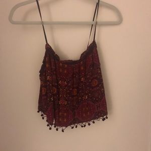 Tops - Crop top from a boutique super vintage